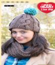 Návod na pletenou šálu s čepicí