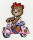 Kočička na motorce 5,5x7cm