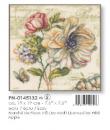 Květiny 19x19cm